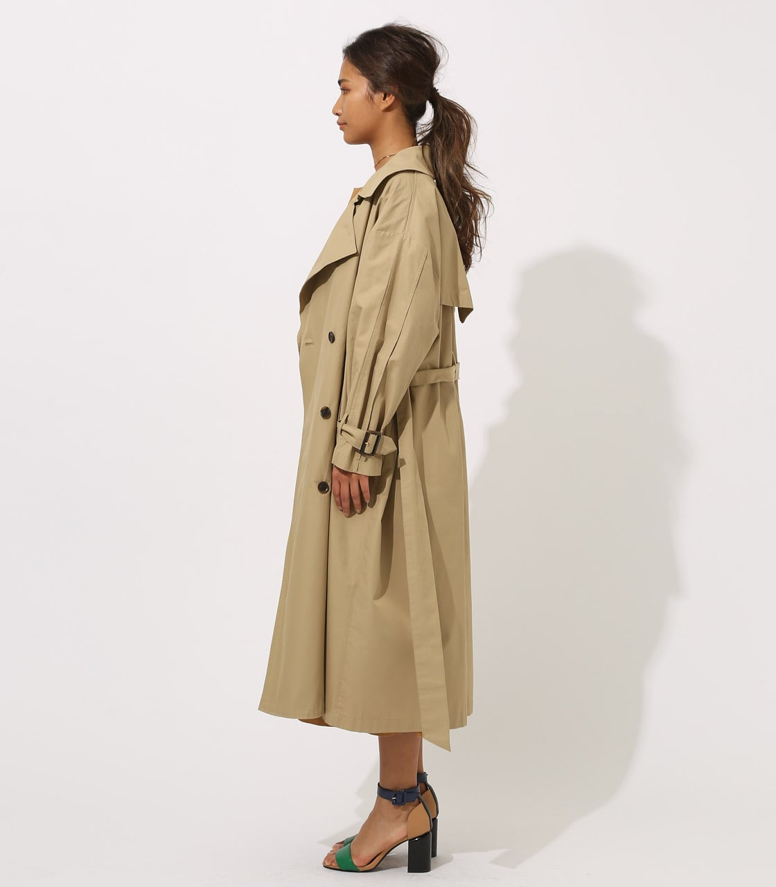 【AZUL BY MOUSSY】VOLUME TRENCH COAT 詳細画像 BEG 6