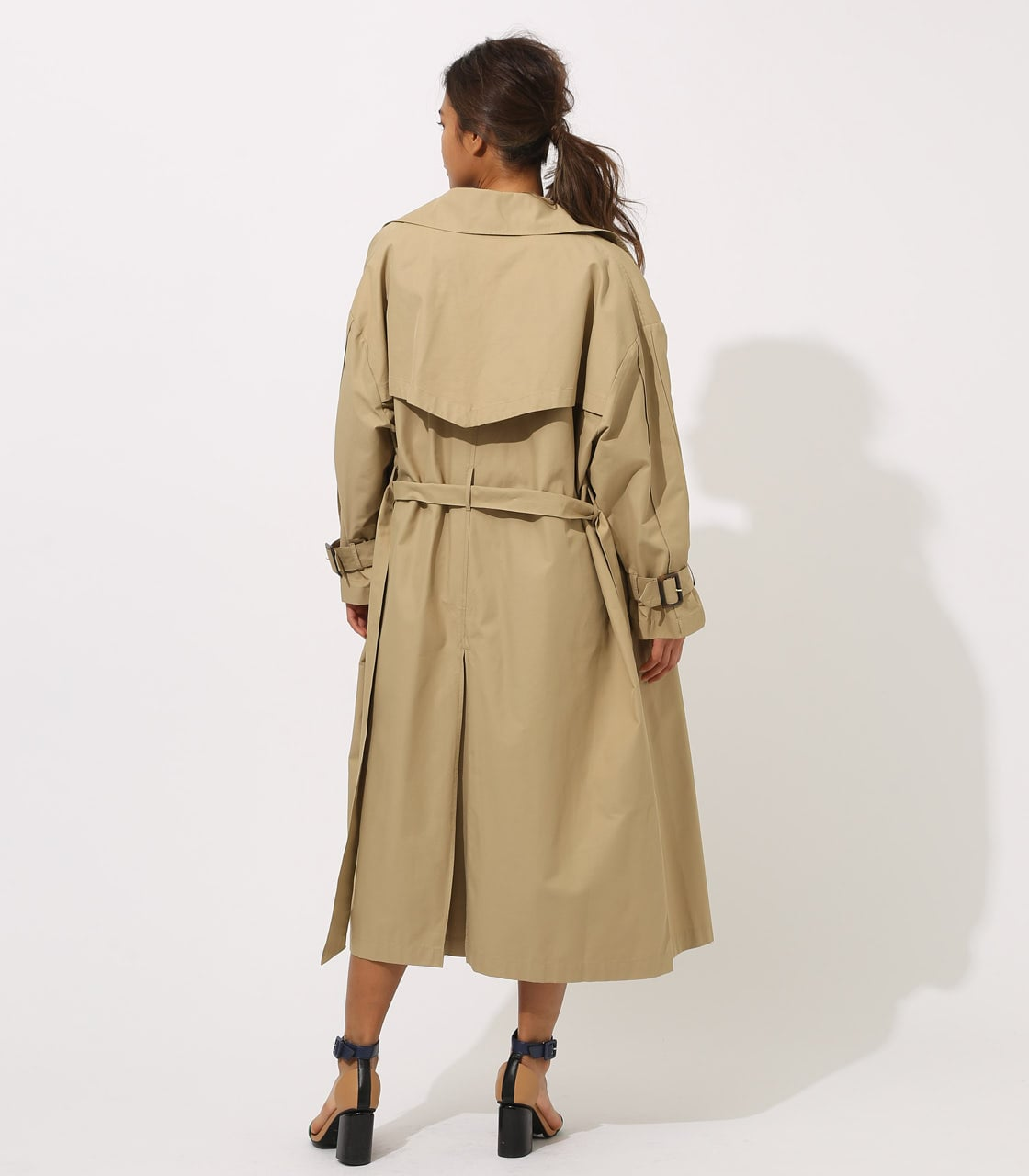 【AZUL BY MOUSSY】VOLUME TRENCH COAT 詳細画像 BEG 7