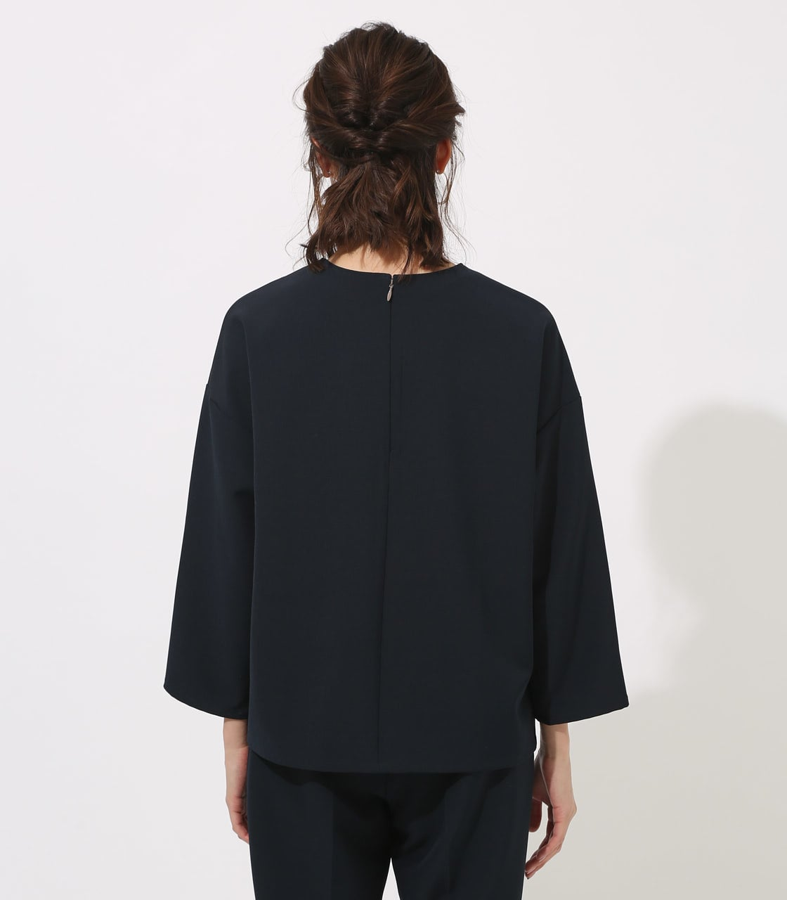 【AZUL BY MOUSSY】LAYERED IRREGULAR HEM TOPS 詳細画像 NVY 7