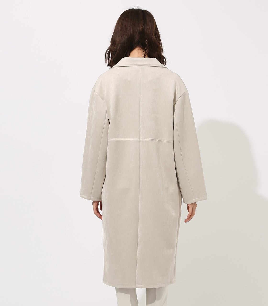 FAKE SUEDE CHESTER COAT 詳細画像 L/GRY 7