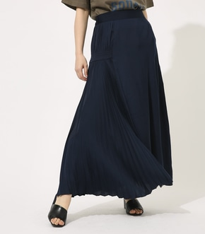 【AZUL BY MOUSSY】HALF PLEATS FLARE SKIRT