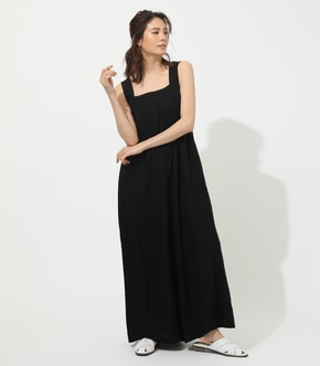 【AZUL BY MOUSSY】WIDE TUCK ROMPERS