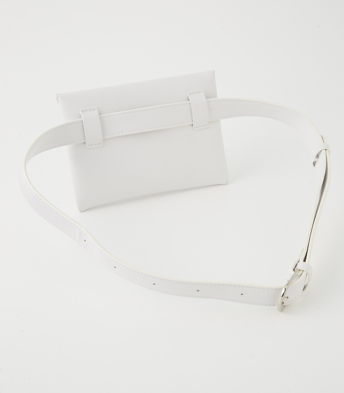 METAL MINI WAIST BAG BELT 詳細画像 WHT 3