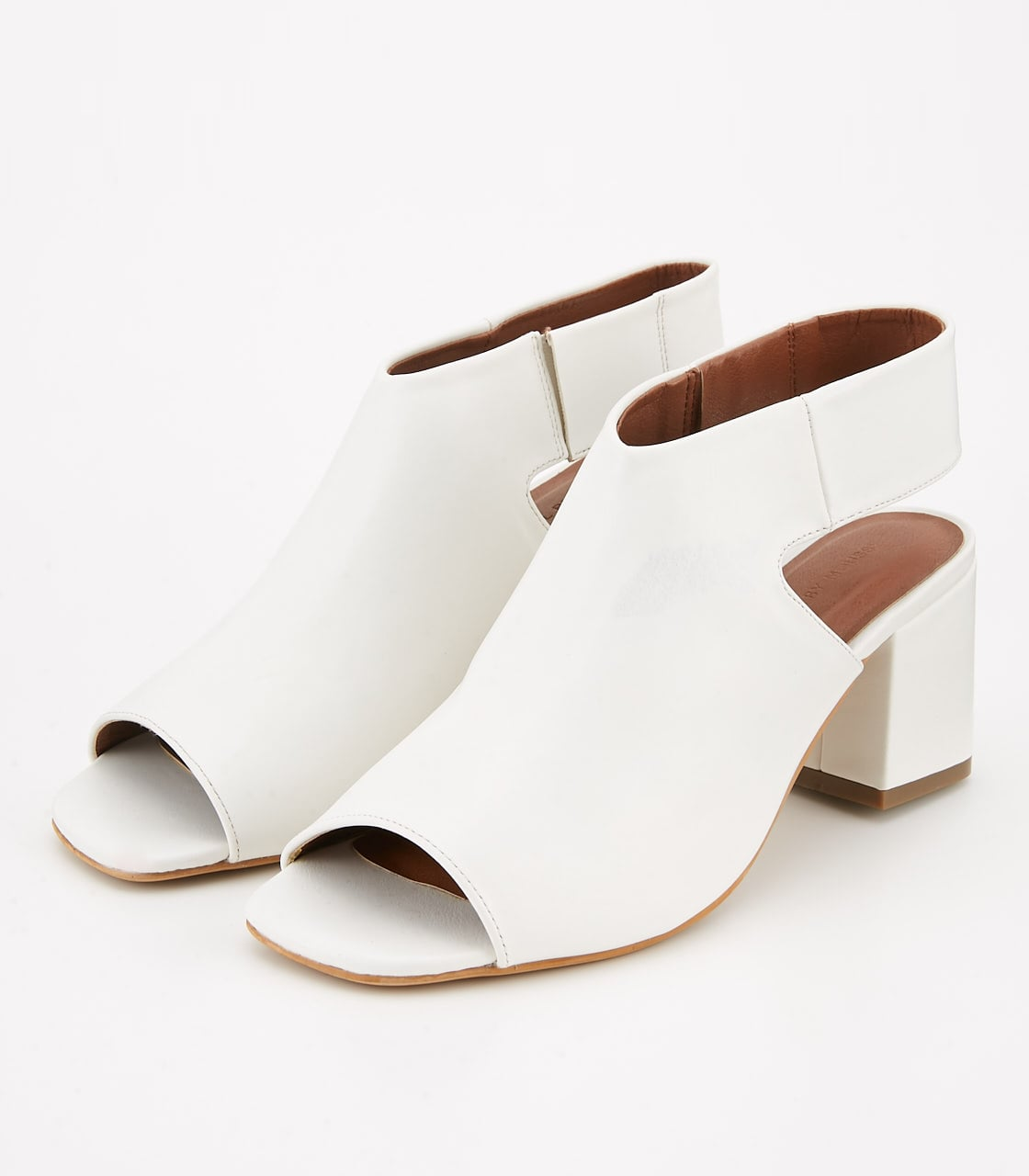 【AZUL BY MOUSSY】OPEN TOE BOOTS 詳細画像 O/WHT 1