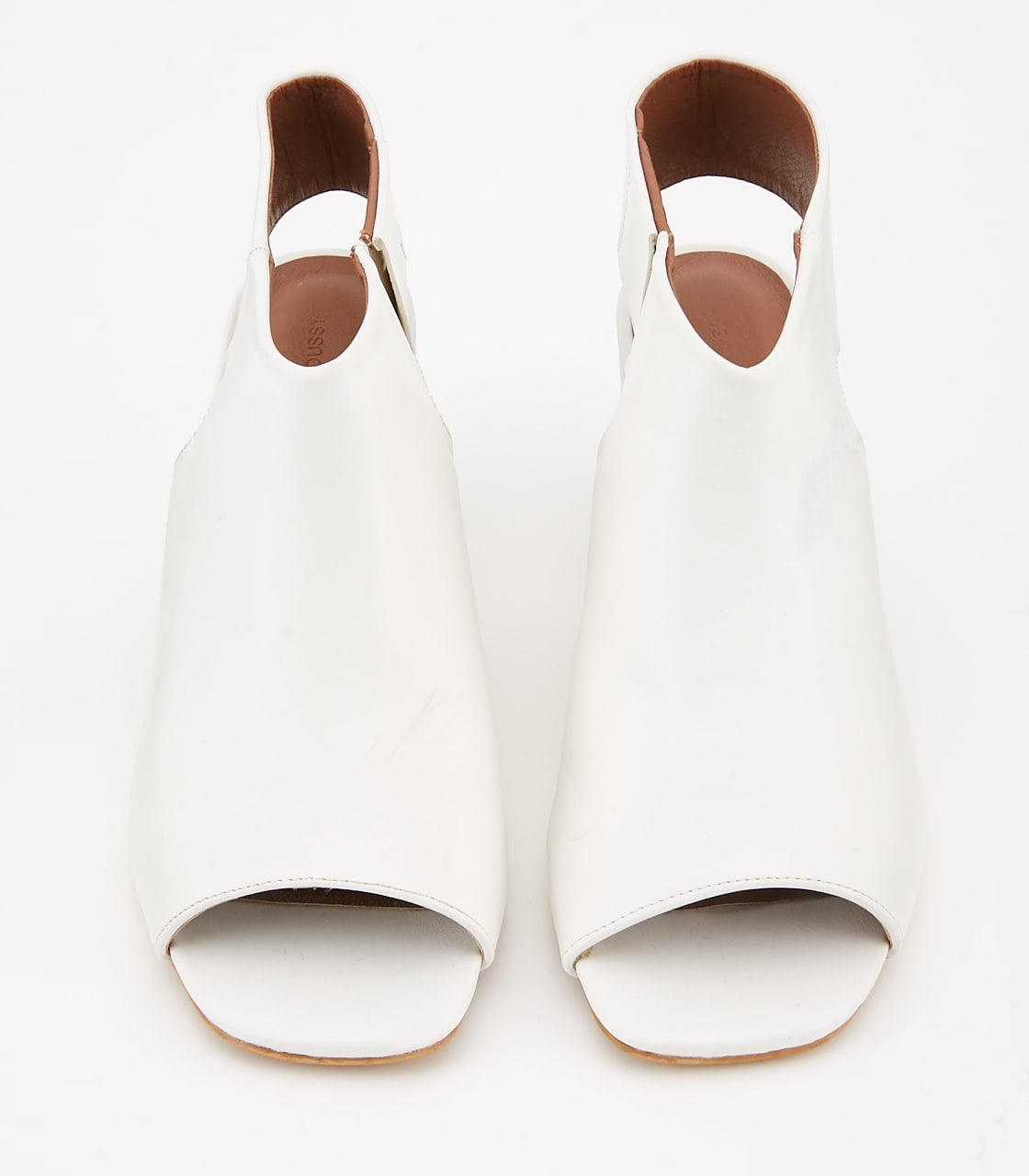 【AZUL BY MOUSSY】OPEN TOE BOOTS 詳細画像 O/WHT 2