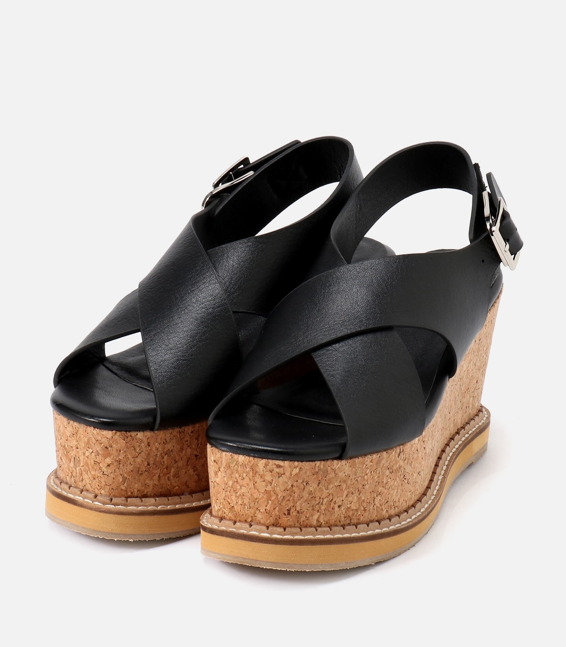 【AZUL BY MOUSSY】CORKHEEL WEDGE SANDALS