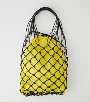 【AZUL BY MOUSSY】LEATHER LIKE MESH TOTE BAG【MOOK50掲載 90162】