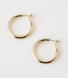 【AZUL BY MOUSSY】T/C WIDE HOOP ピアス【MOOK50掲載 90181】