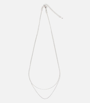 【AZUL BY MOUSSY】DOUBLE CHAIN SIMPLE NECKLACE