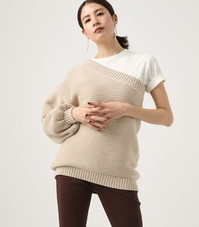ONE SHOULDER KNIT TOPS