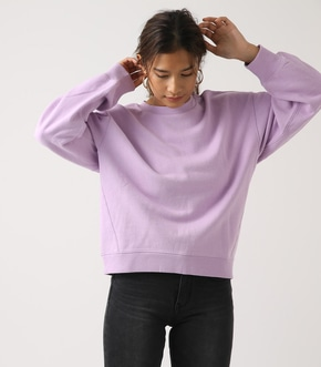 【AZUL BY MOUSSY】SLEEVE TUCK SWEAT TOPS