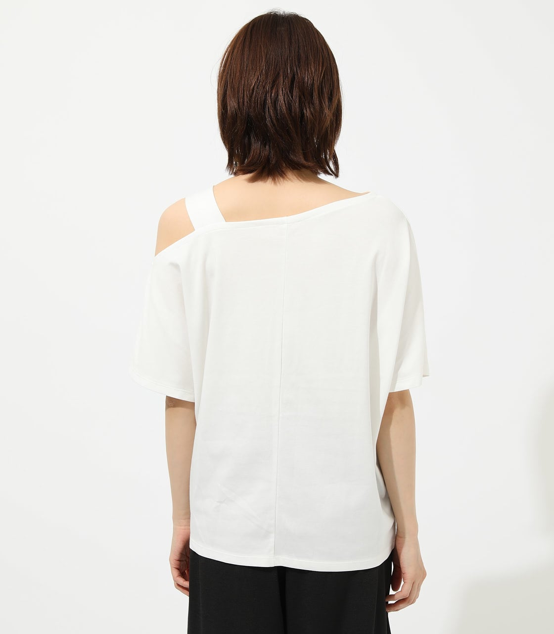 【AZUL BY MOUSSY】ONE SHOULDER CUT TOPS 詳細画像 O/WHT 6