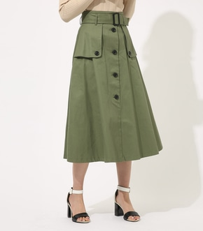 【AZUL BY MOUSSY】TRENCH FLARE SKIRT