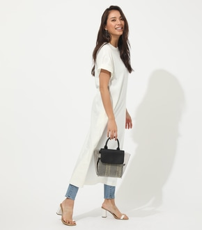 【AZUL BY MOUSSY】HALF SLEEVE T/DRESS