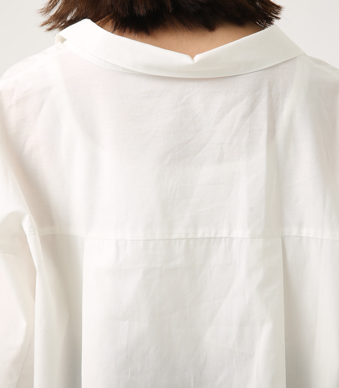 【AZUL BY MOUSSY】LOOSE SKIPPER SHIRT 詳細画像 O/WHT 9