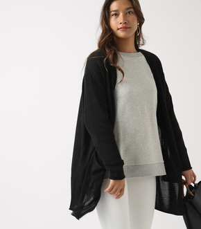 SHEER KNIT CARDIGAN