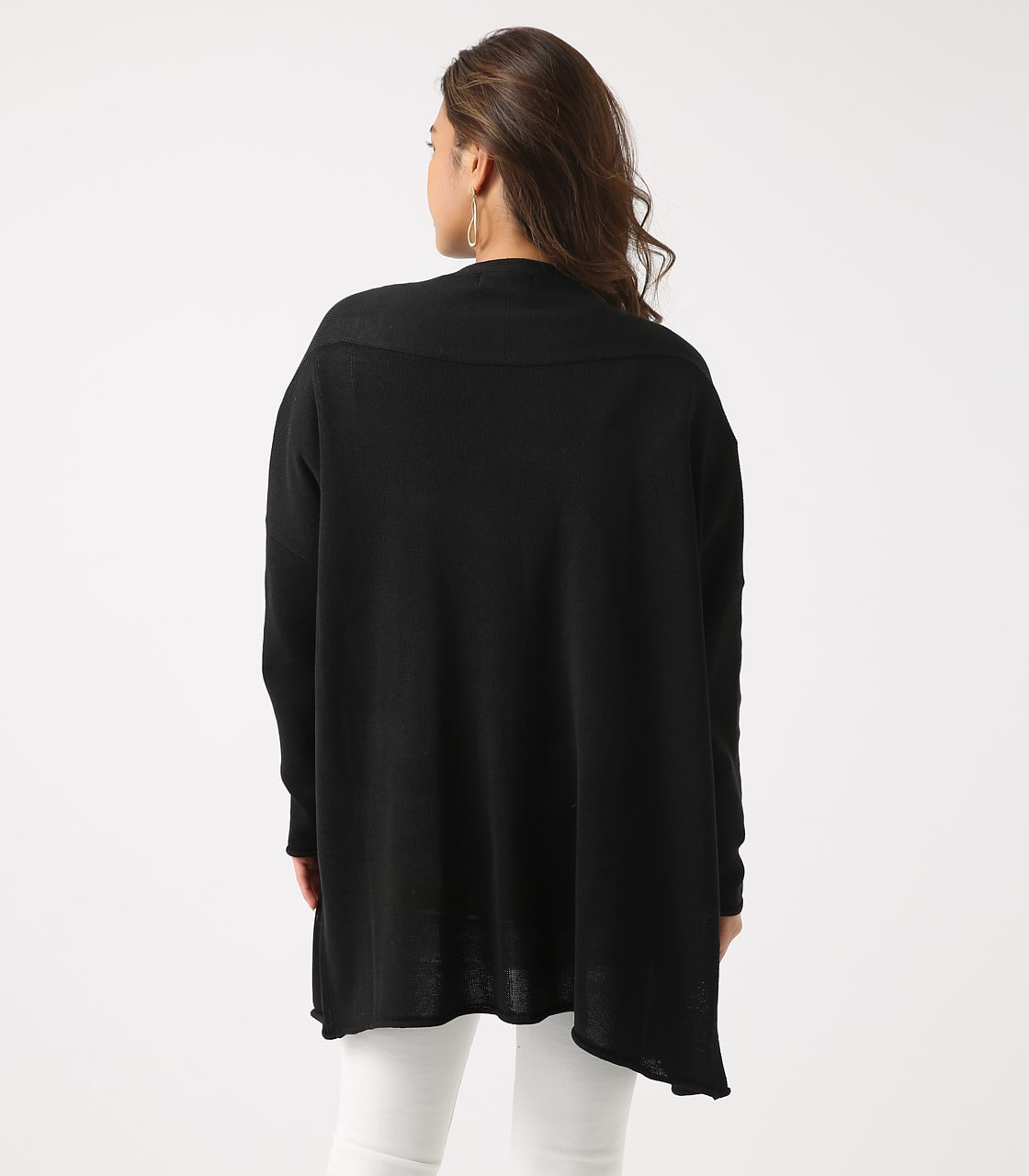 SHEER KNIT CARDIGAN 詳細画像 BLK 7