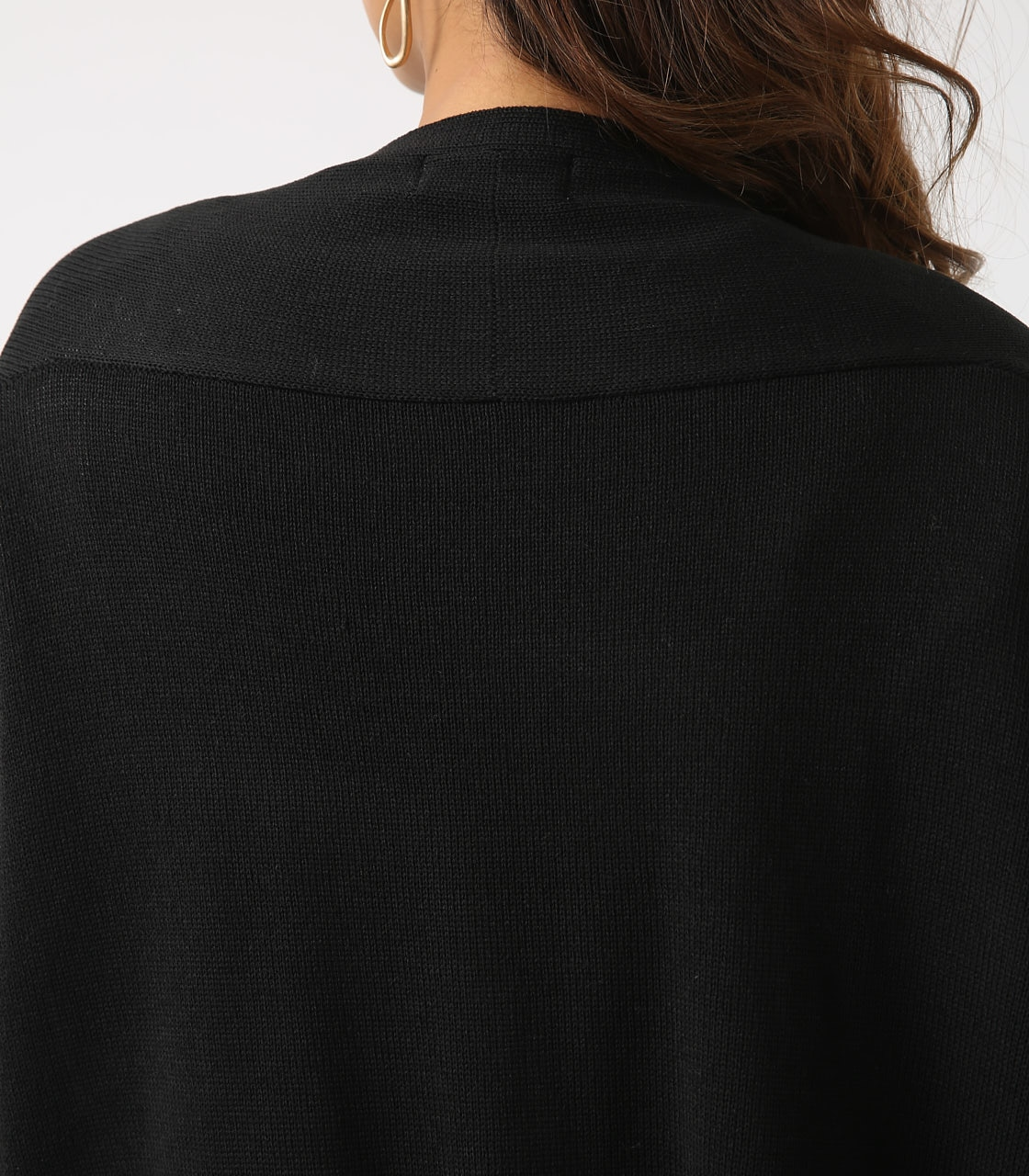 SHEER KNIT CARDIGAN 詳細画像 BLK 9