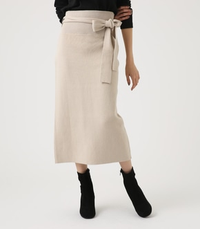 HIGH WAIST SWEATTER SKIRT