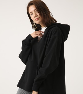 V CUT OVER HOODIE