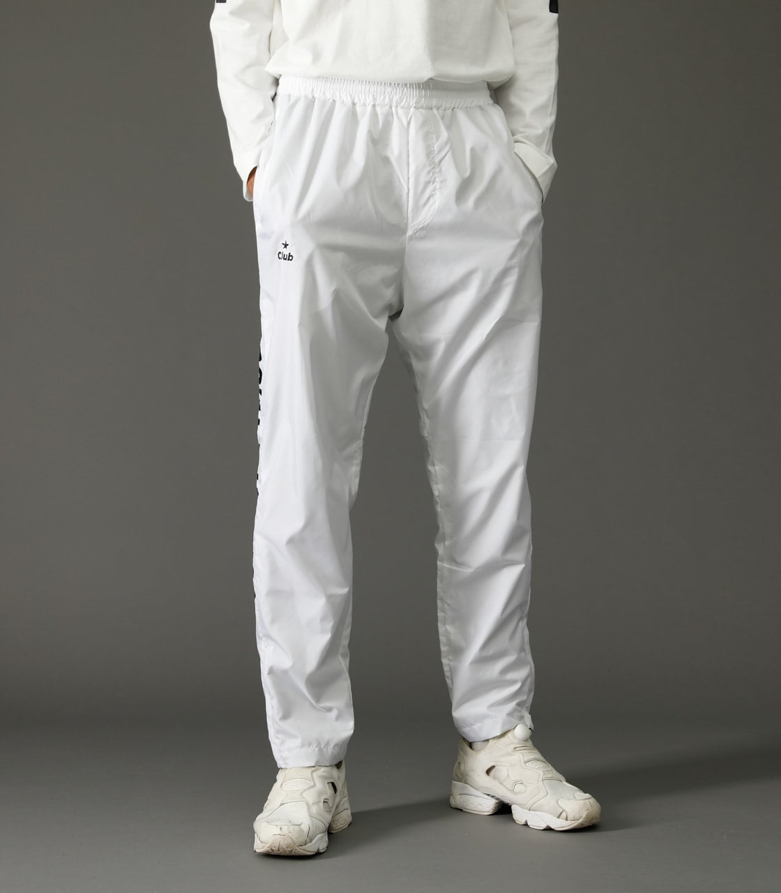 【AZUL BY MOUSSY】CLUB AZUL WARMUP PANTS【MOOK47掲載 97026】 詳細画像 WHT 1