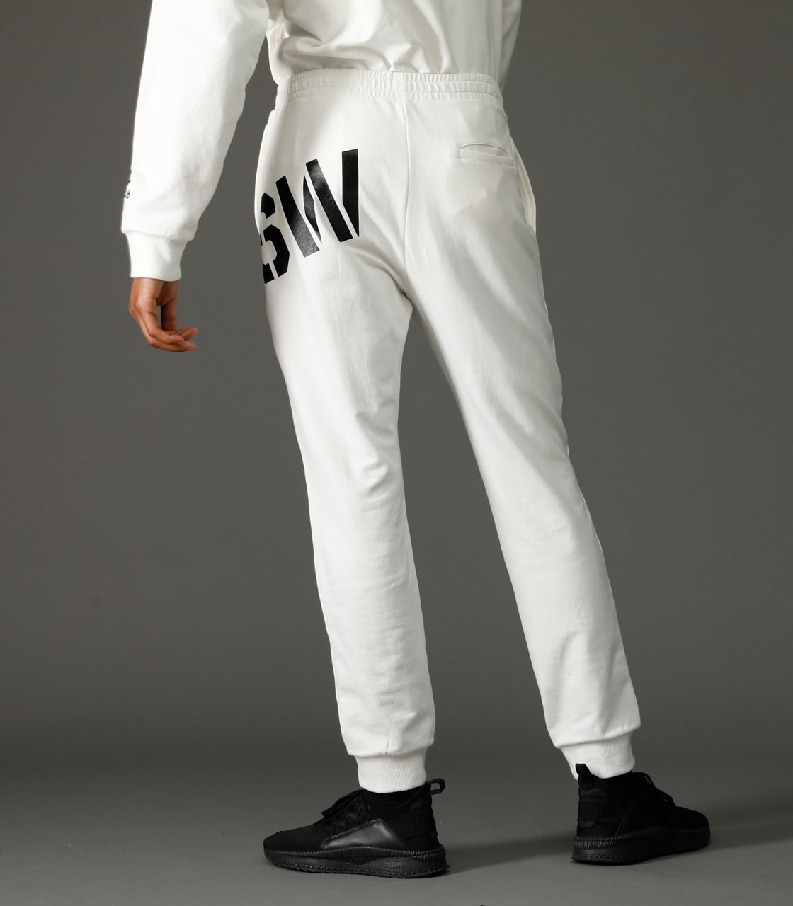 CLUB AZUL STRETCH PANTS 詳細画像 WHT 3