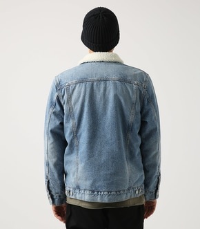 【AZUL BY MOUSSY】ボアデニム ジャケット【MOOK48掲載】 詳細画像