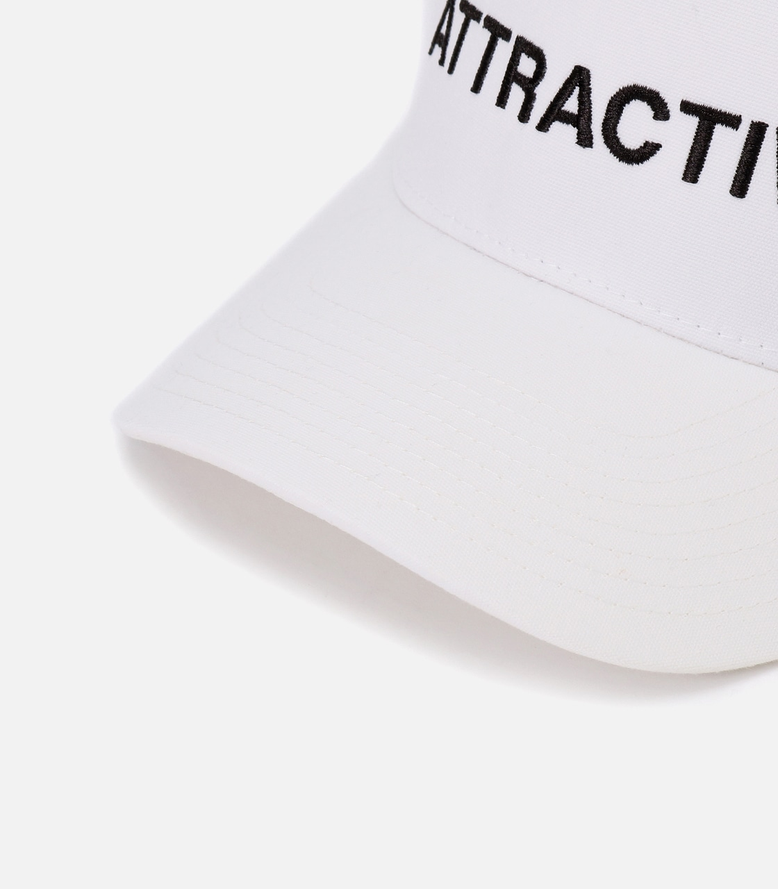 【AZUL BY MOUSSY】ATTRACTIVE ツイルキャップ 詳細画像 WHT 5