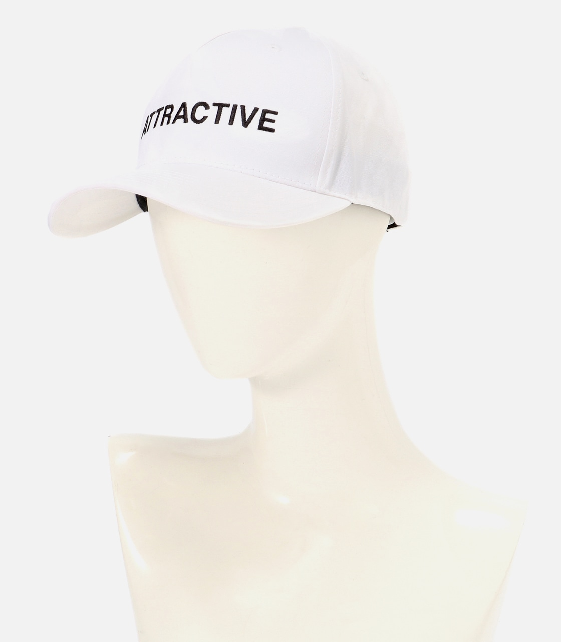 【AZUL BY MOUSSY】ATTRACTIVE ツイルキャップ 詳細画像 WHT 9