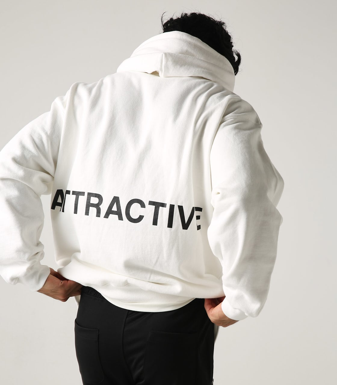 【AZUL BY MOUSSY】ATTRACTIVE ビッグパーカー 詳細画像 WHT 1
