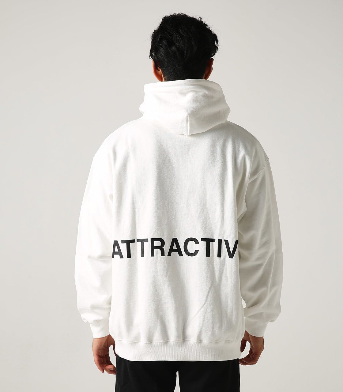 【AZUL BY MOUSSY】ATTRACTIVE ビッグパーカー 詳細画像 WHT 7