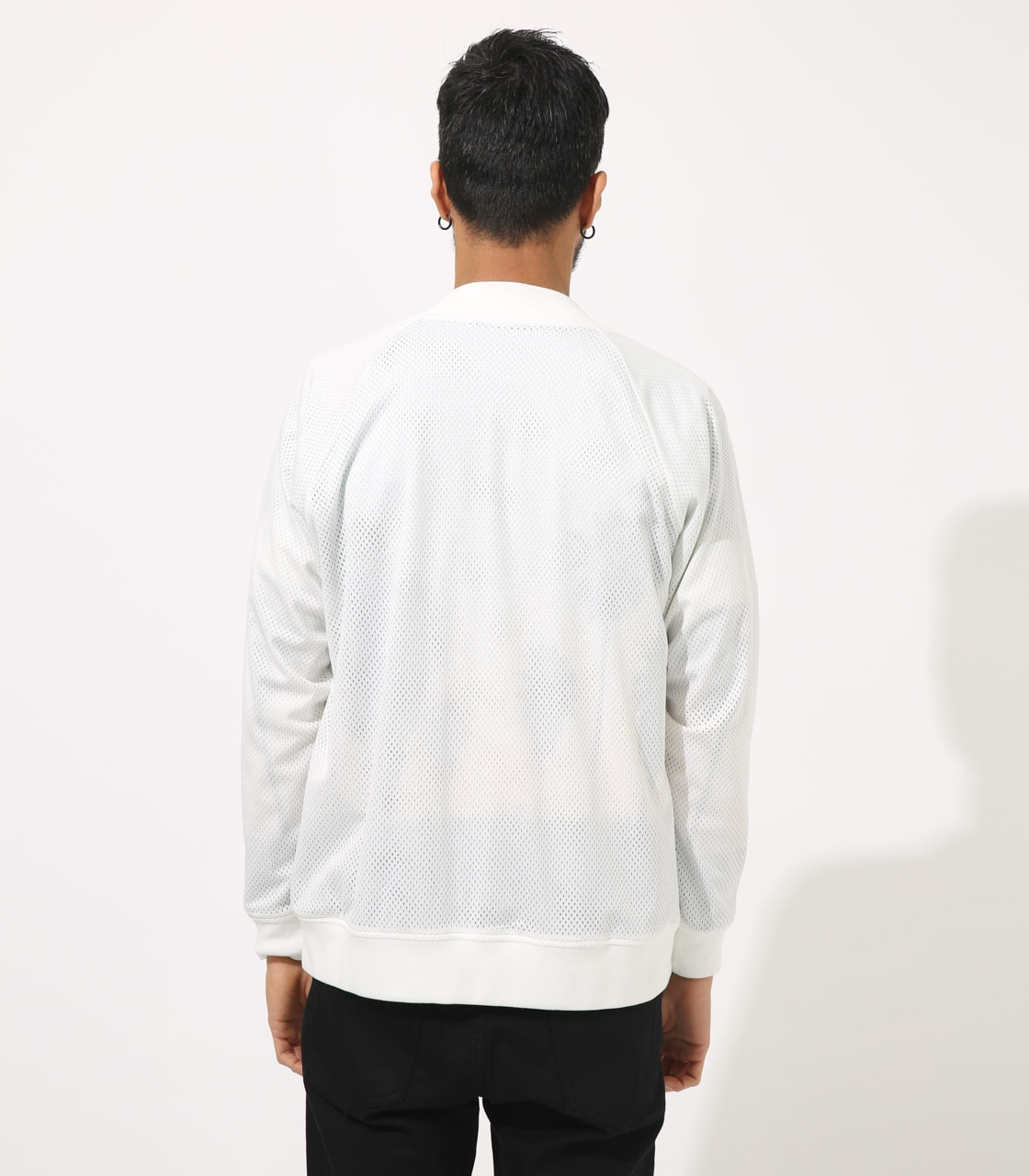 【AZUL BY MOUSSY】REVERSIBLE MESH BLOUSON 詳細画像 WHT 7