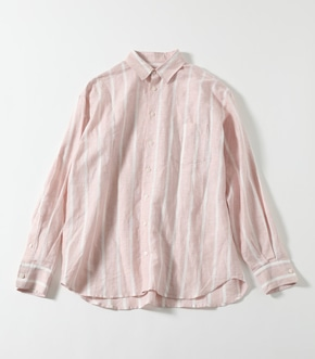【AZUL BY MOUSSY】COTTON LINEN BIG SHIRT【MOOK50掲載 90186】