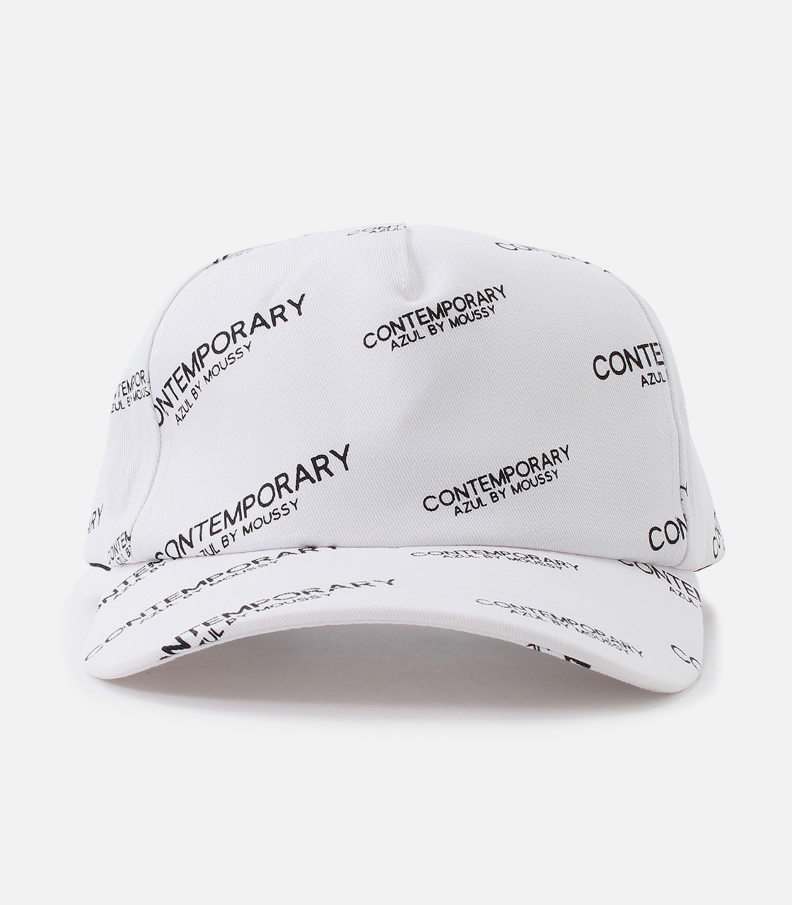 【AZUL BY MOUSSY】CONTEMPORARY 6PANEL CAP 詳細画像 柄WHT 2