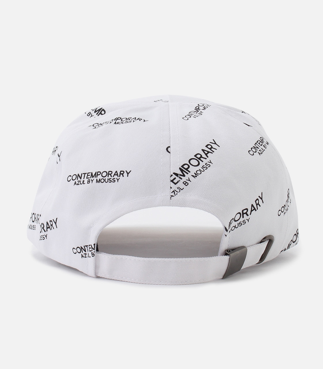 【AZUL BY MOUSSY】CONTEMPORARY 6PANEL CAP 詳細画像 柄WHT 3