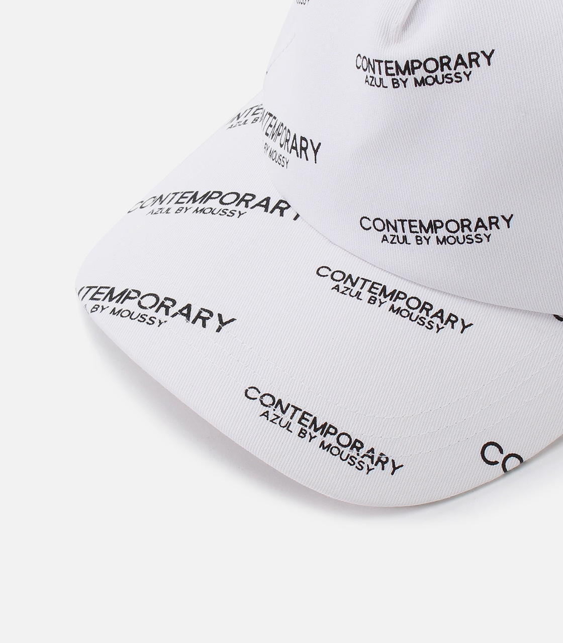 【AZUL BY MOUSSY】CONTEMPORARY 6PANEL CAP 詳細画像 柄WHT 5