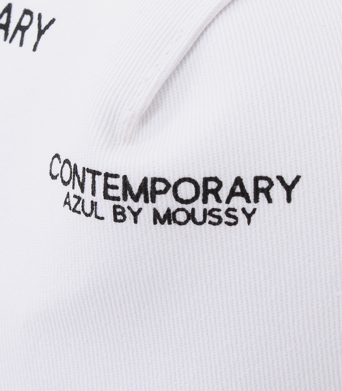 【AZUL BY MOUSSY】CONTEMPORARY 6PANEL CAP 詳細画像 柄WHT 6