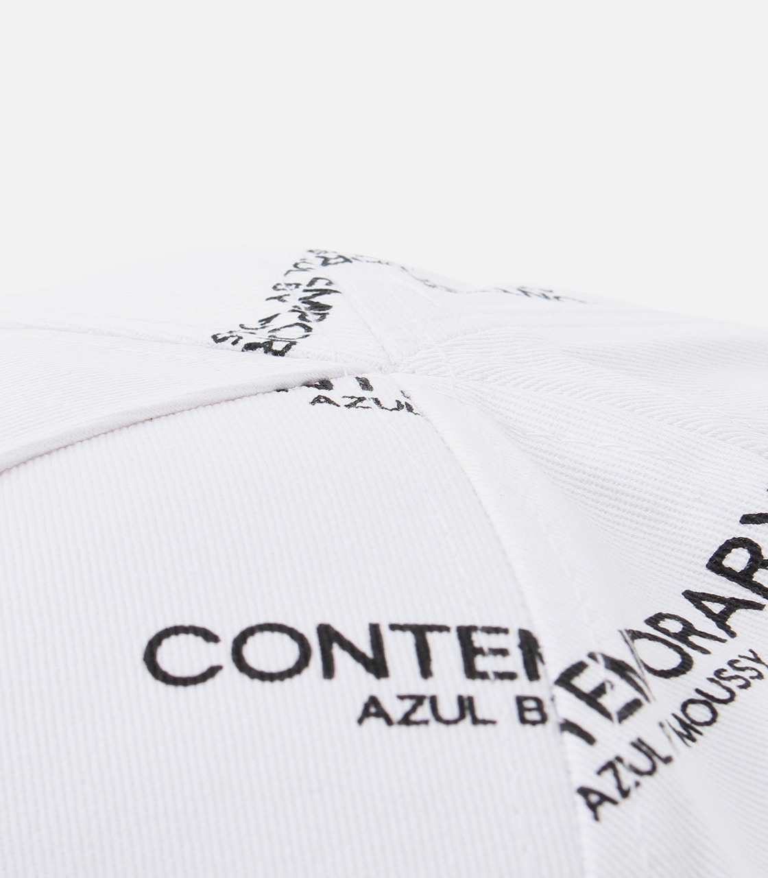 【AZUL BY MOUSSY】CONTEMPORARY 6PANEL CAP 詳細画像 柄WHT 7