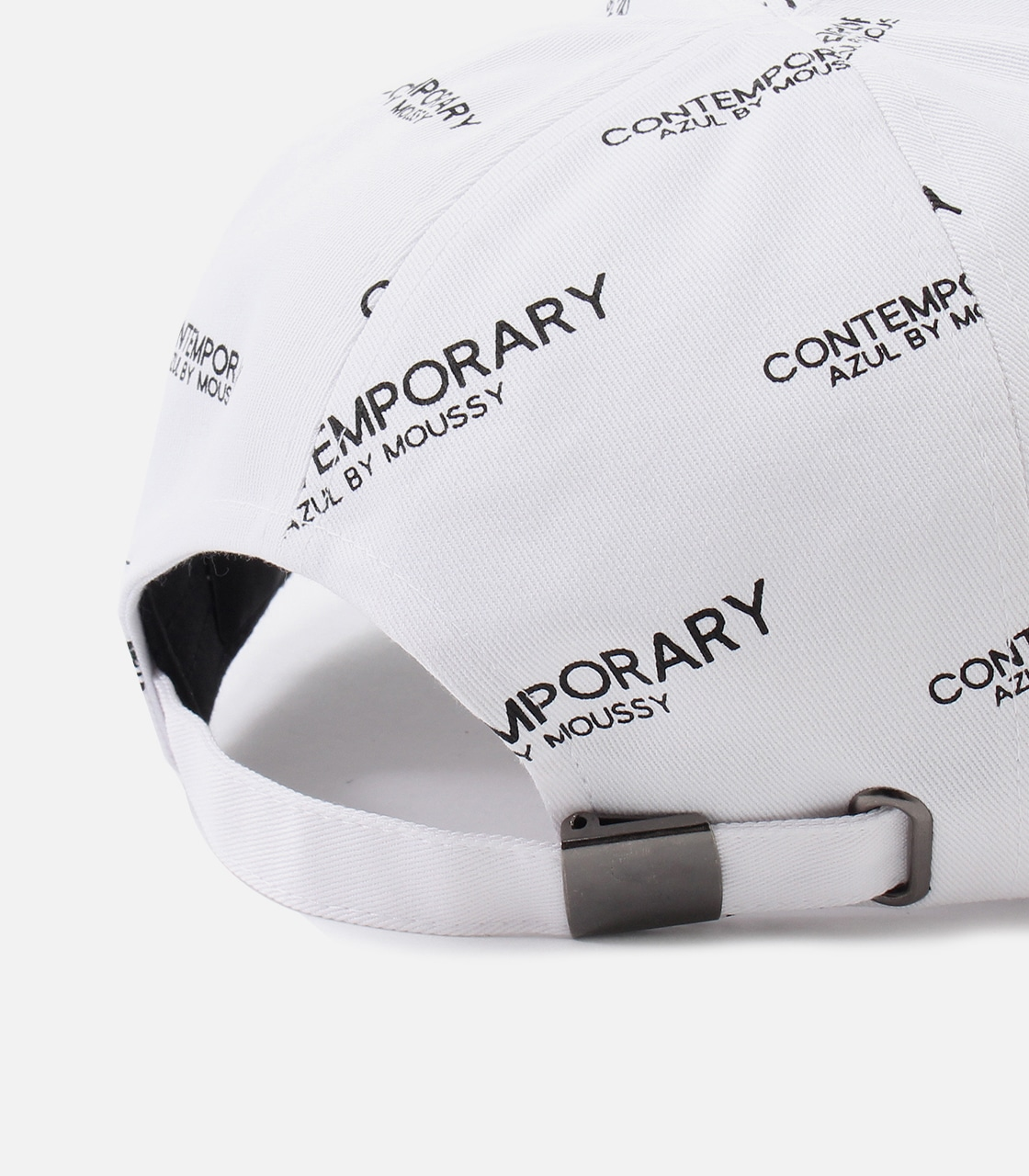【AZUL BY MOUSSY】CONTEMPORARY 6PANEL CAP 詳細画像 柄WHT 8