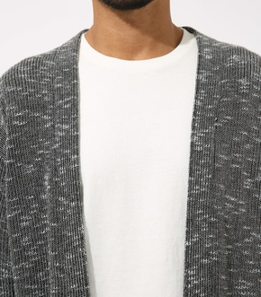 【AZUL BY MOUSSY】RIB STITCH CARDIGAN 詳細画像