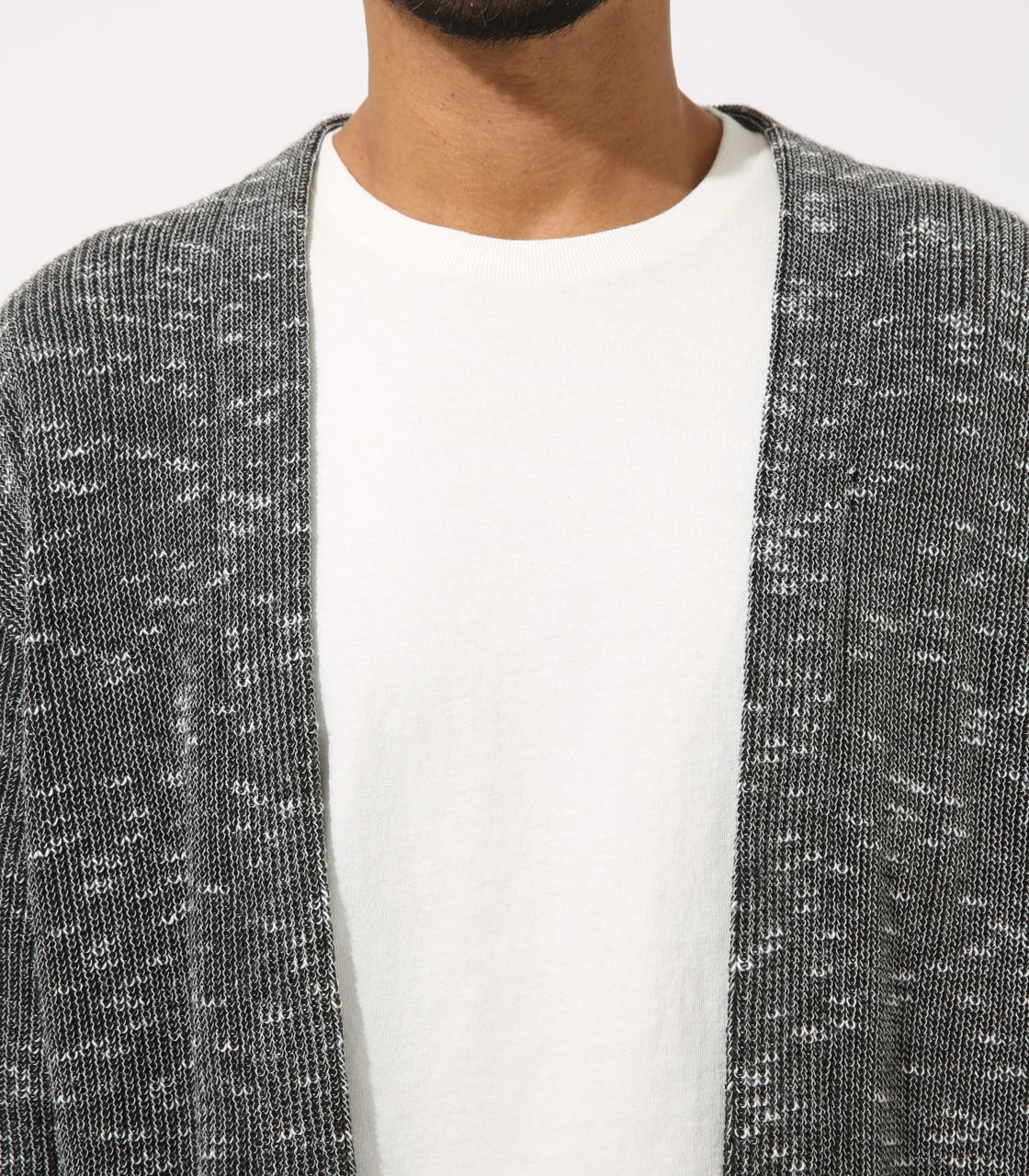 【AZUL BY MOUSSY】RIB STITCH CARDIGAN 詳細画像 柄BLK 8