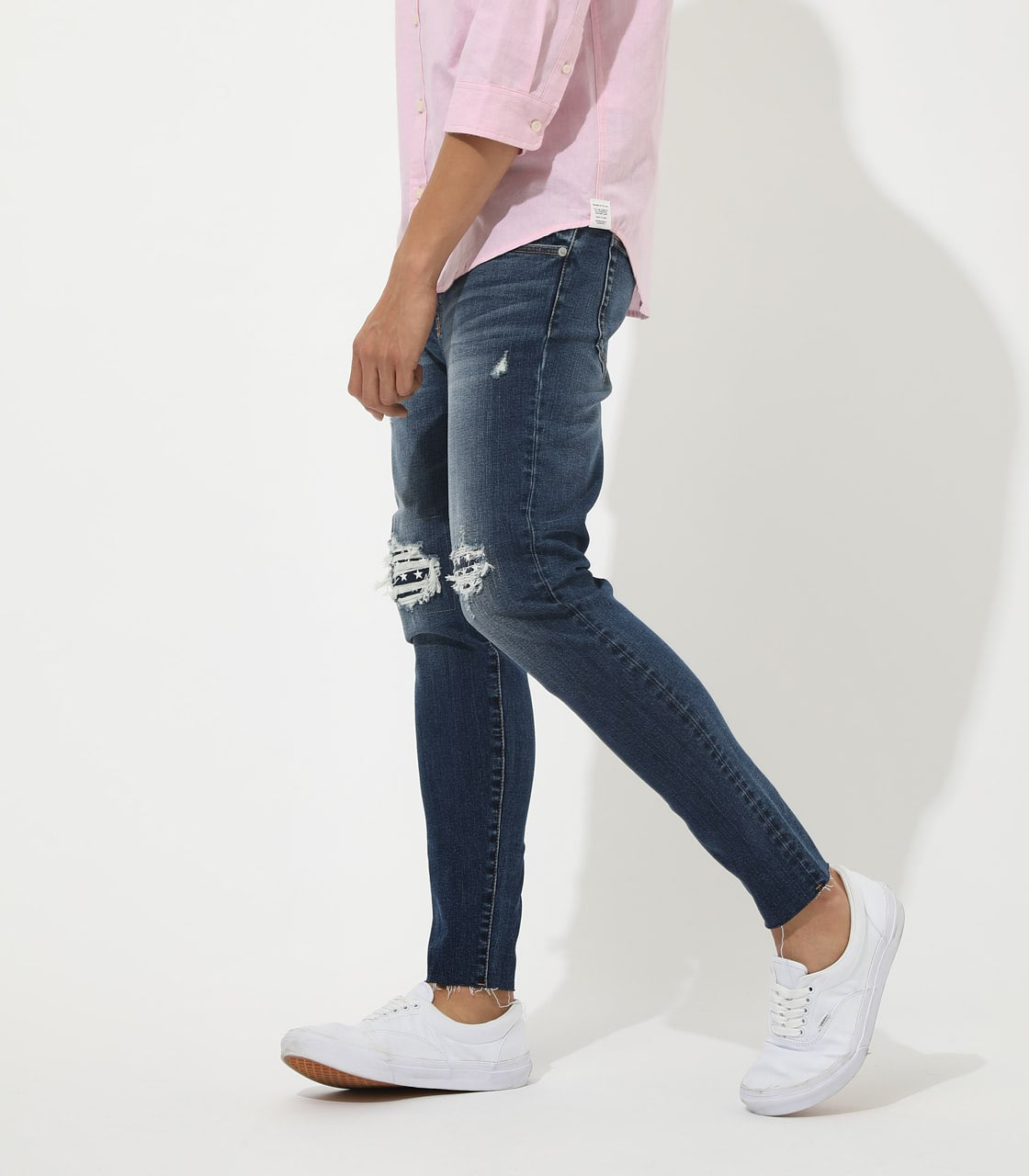 【AZUL BY MOUSSY】STAR ACTION COMFORT SKINNY 詳細画像 BLU 2