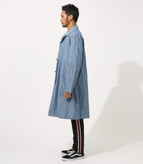 【AZUL BY MOUSSY】SOUTIEN COLLAR LONG COAT 詳細画像