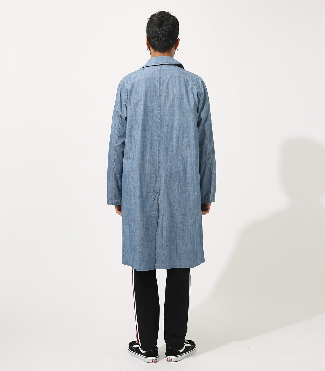 【AZUL BY MOUSSY】SOUTIEN COLLAR LONG COAT 詳細画像 BLU 7