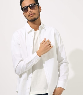 COTTON DUNP BASIC SHIRT