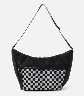 【AZUL BY MOUSSY】CHECKERED FLAG SHOULDER BAG