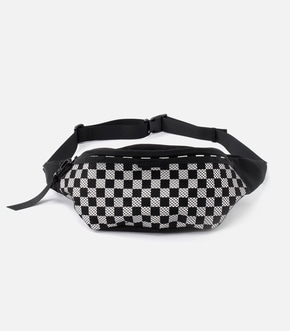【AZUL BY MOUSSY】CHECKERED FLAG WAIST BAG