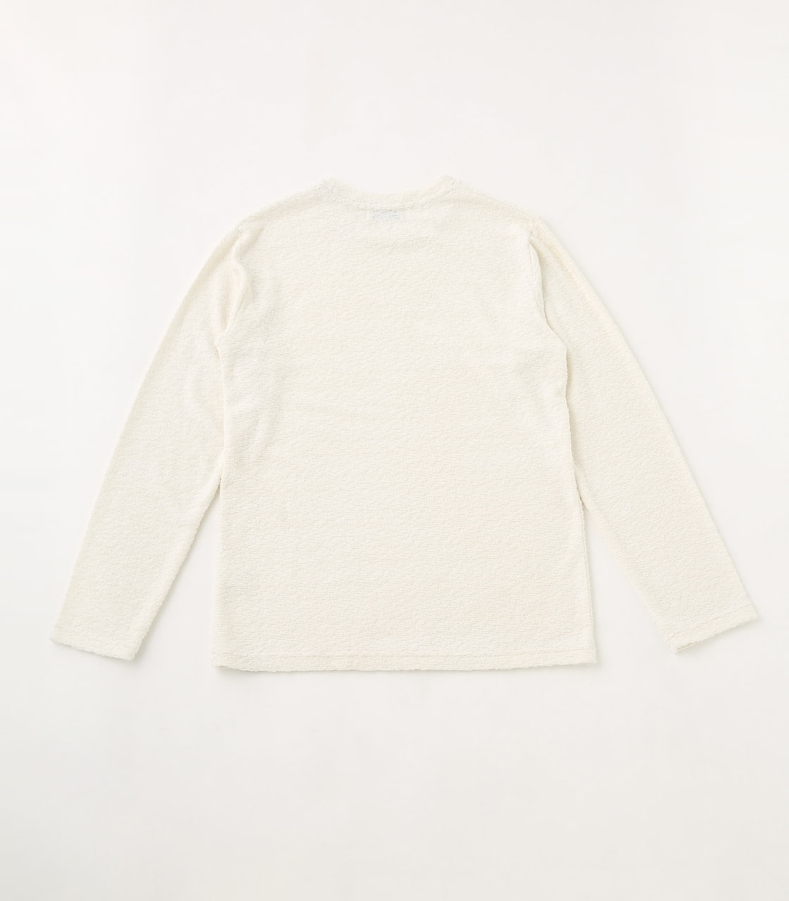 【AZUL BY MOUSSY】BIG PILE LONG SLEEVE 詳細画像 WHT 2