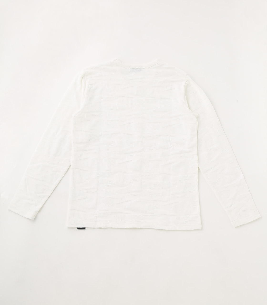 【AZUL BY MOUSSY】SHADOW CAMOUFLAGE LONG SLEEVE 詳細画像 WHT 2