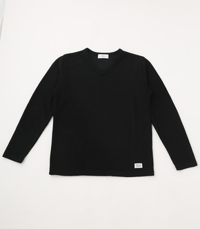 【AZUL BY MOUSSY】SLUB PILE LONG SLEEVE